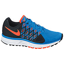 Buy Nike Zoom Vomero 9 Men's Running Shoes, Blue/Hyper Crimson Online at johnlewis.com
