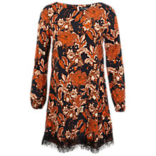 Buy Miss Selfridge Floral Printed Tunic Dress, Assorted Online at johnlewis.com