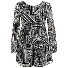 Buy Miss Selfridge Navajo Printed Playsuit, Assorted Online at johnlewis.com