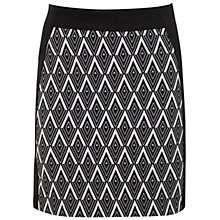 Buy Miss Selfridge Graphic Print Mini Skirt, Assorted Online at johnlewis.com