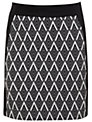 Miss Selfridge Graphic Print Mini Skirt, Assorted