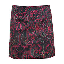 Buy Miss Selfridge Paisley Print Mini Skirt, Assorted Online at johnlewis.com