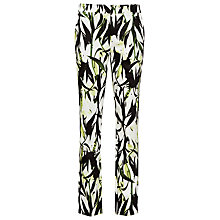 Buy Reiss Olivia Printed Trousers, Multi Online at johnlewis.com