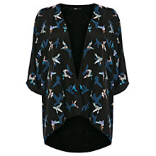Buy Oasis Peter Ting Kimono, Multi Black Online at johnlewis.com