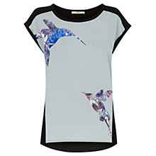 Buy Oasis Peter Ting Placement Tee, Multi Online at johnlewis.com