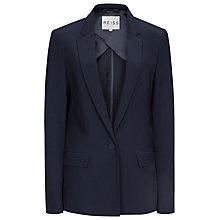 Buy Reiss Parlo Long Rever Jacket, Midnight Online at johnlewis.com