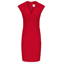 Buy Reiss Sinara Panelled Shift Dress, Red Online at johnlewis.com