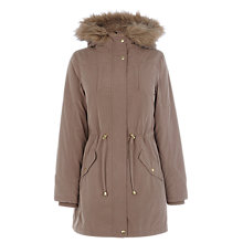 Buy Oasis Bella Fur Lined Parka Online at johnlewis.com