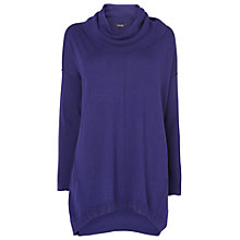 Buy Phase Eight Connie Cowl Neck Jumper, Royal Purple Online at johnlewis.com