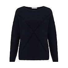 Buy John Lewis Capsule Collection Cross Cotton Jumper Online at johnlewis.com