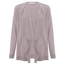 Buy John Lewis Capsule Collection Waterfall Cardigan, Zinc Online at johnlewis.com