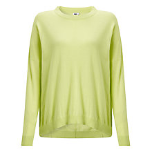 Buy Kin by John Lewis Cotton Jumper, Lime Online at johnlewis.com