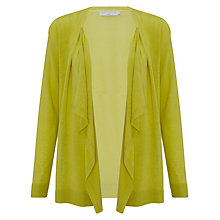 Buy John Lewis Capsule Collection Waterfall Cardigan, Lime Online at johnlewis.com