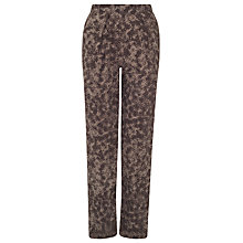 Buy John Lewis Capsule Collection Fern Print Trousers, Brown Online at johnlewis.com