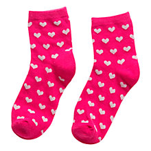 Buy Mango Kids Girls' Metallic Ankle Socks, Pack of 2 Online at johnlewis.com