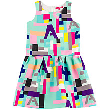 Buy Derhy Kids Girls' Geometric Print Dress, Multi Online at johnlewis.com