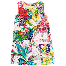 Buy Derhy Kids Girls' Bright Floral Print Dress, Multi Online at johnlewis.com