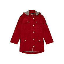 Buy Barbour Girls' Trevose Jacket, Red Online at johnlewis.com