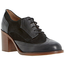 Buy Bertie Arya Mid Block Heel Lace Up Brogues Online at johnlewis.com