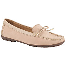 Buy John Lewis Vermont Nubuck Bow Detail Loafers Online at johnlewis.com