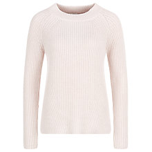 Buy Kaliko Ribbed Jumper, Light Pink Online at johnlewis.com