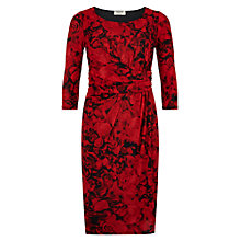 Buy Precis Petite Valentine Rose Dress, Multi Dark Online at johnlewis.com