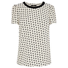Buy Oasis Soft Geo T-Shirt, Multi Online at johnlewis.com