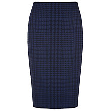 Buy Planet Jacquard Pencil Skirt, Navy Online at johnlewis.com