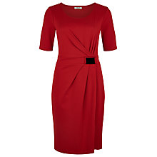 Buy Precis Petite Buckle Dress, Scarlet Online at johnlewis.com