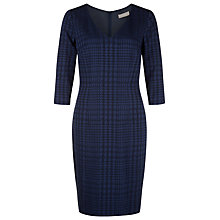 Buy Planet Jacquard Dress, Navy Online at johnlewis.com