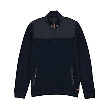 Buy Ted Baker Kartel Long Sleeve Quilted Cardigan, Navy Online at johnlewis.com