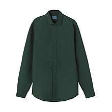 Buy Jigsaw Garment Dye Oxford Shirt Online at johnlewis.com