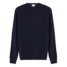 Buy Jigsaw Wool Cashmere Mixed Gauge Crew Top Online at johnlewis.com