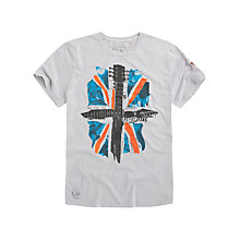 Buy Pepe Jeans Chorus Washed Jersey Graphic T-Shirt Online at johnlewis.com