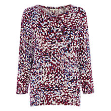 Buy Wishbone Animal Print Janine Top, Multi Online at johnlewis.com