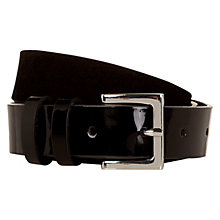 Buy Hobbs Merton Belt, Black Online at johnlewis.com