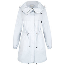 Buy Hobbs Phoebe Parka, Winter Blue Online at johnlewis.com