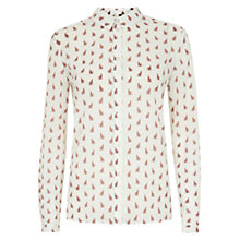 Buy NW3 By Hobbs Lola Cat Print Blouse, Multi Online at johnlewis.com