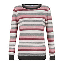 Buy NW3 By Hobbs Casey Jumper, Blush Multi Online at johnlewis.com