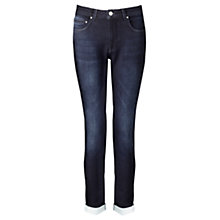 Buy Jigsaw Knitted Richmond Jeans, Indigo Online at johnlewis.com
