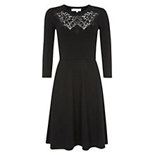 Buy Hobbs Amberly Dress, Black Online at johnlewis.com