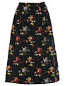 Oasis Primrose Midi Skirt, Multi Black