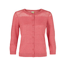 Buy NW3 by Hobbs Penny Cardigan, Blush Pink Online at johnlewis.com
