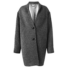 Buy Jigsaw Boucle Knit Coat, Grey Online at johnlewis.com