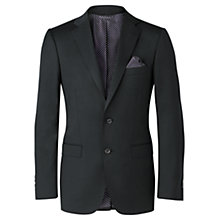 Buy Jigsaw Tollengo Pin Dot Two Button Tailored Jacket, Navy Online at johnlewis.com