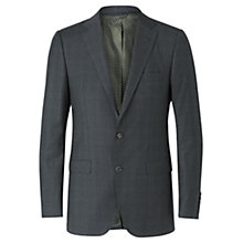 Buy Jigsaw Tollengo Prince Of Wales Tailored Jacket, Charcoal Online at johnlewis.com