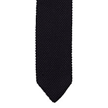 Buy Jigsaw Pique Wool Knitted Tie Online at johnlewis.com