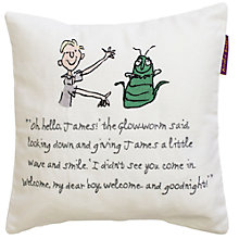 Buy Roald Dahl James and the Giant Peach Cushion Online at johnlewis.com
