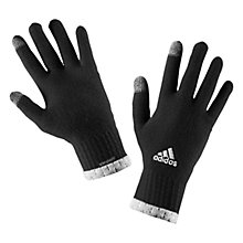 Buy Adidas Climaheat Running Gloves, Black Online at johnlewis.com