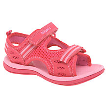 Buy Clarks Doodles Star Games Sandals, Pink Online at johnlewis.com